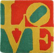 Robert Indiana, 1928-2018,  Love, Teppich, Edition