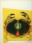 Paul Wunderlich, 1927-2010,  Farblithografie,handsign.,