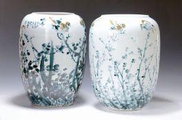 Ovides Vasenpaar, Japan, um 1960-65,  nach dem Vorbild von