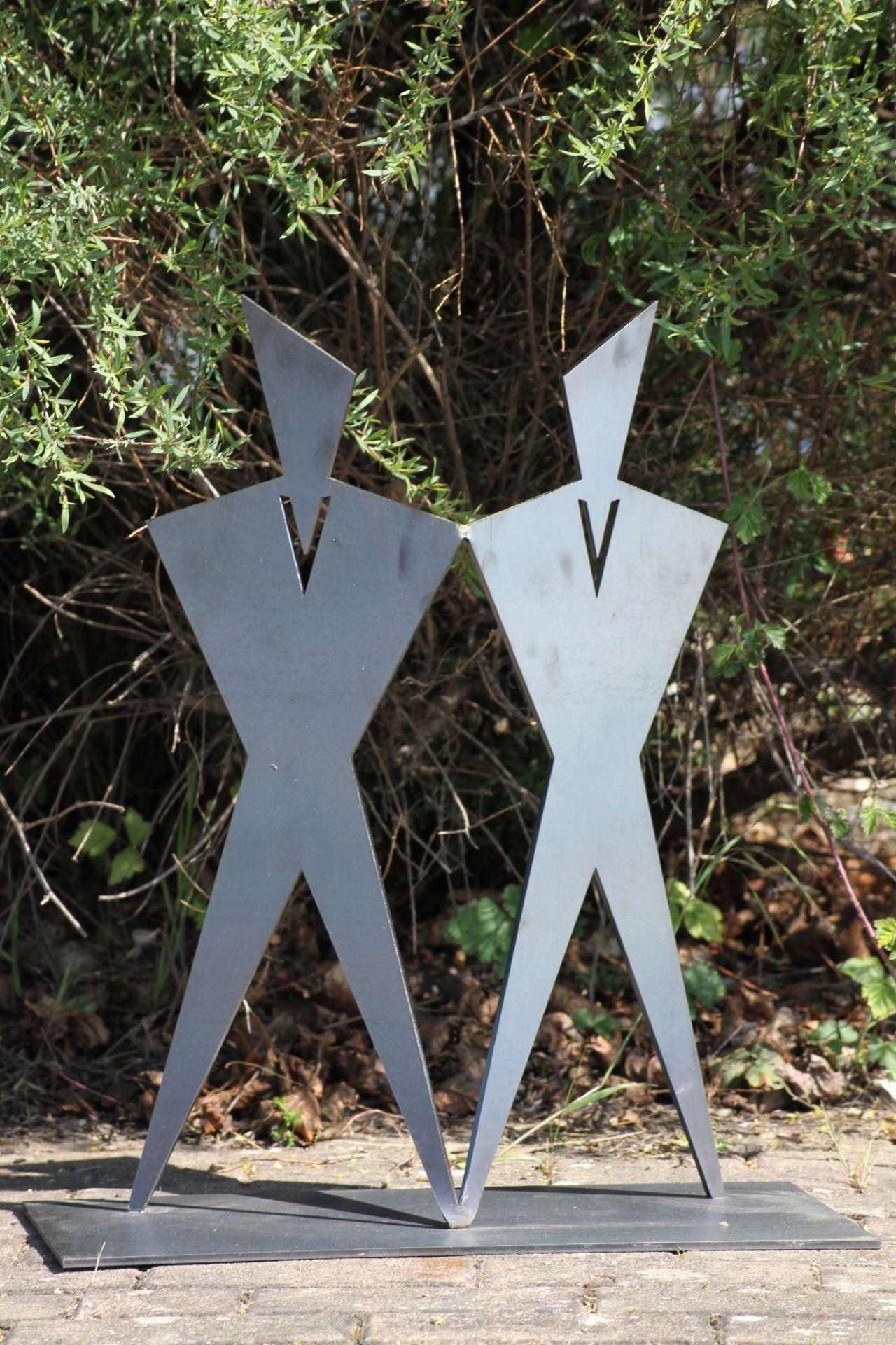 Skulptur, Andreas Helmling, Eisen, Flächen zueinander und - Image 2 of 2