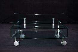 TV-Möbel, Deutschland,  Glas, Plattenstärke 12 mm,