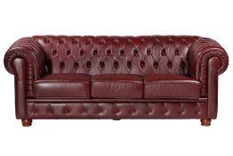 3-Sitzer Sofa, im Chesterfield-Stil,  ausgesuchtes