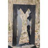 Skulptur, Andreas Helmling, Eisen/Metall, 2 u. 3