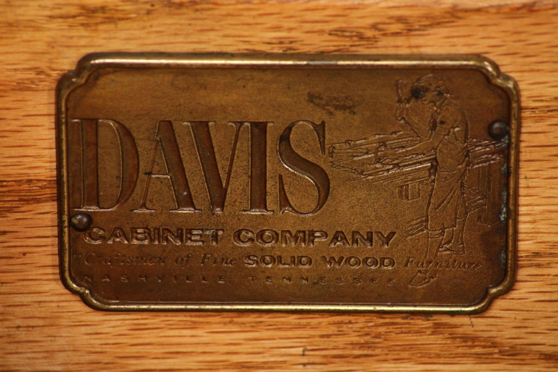 Damenschreibtisch mit Stuhl, 'Davis Cabinet Company', - Image 4 of 6