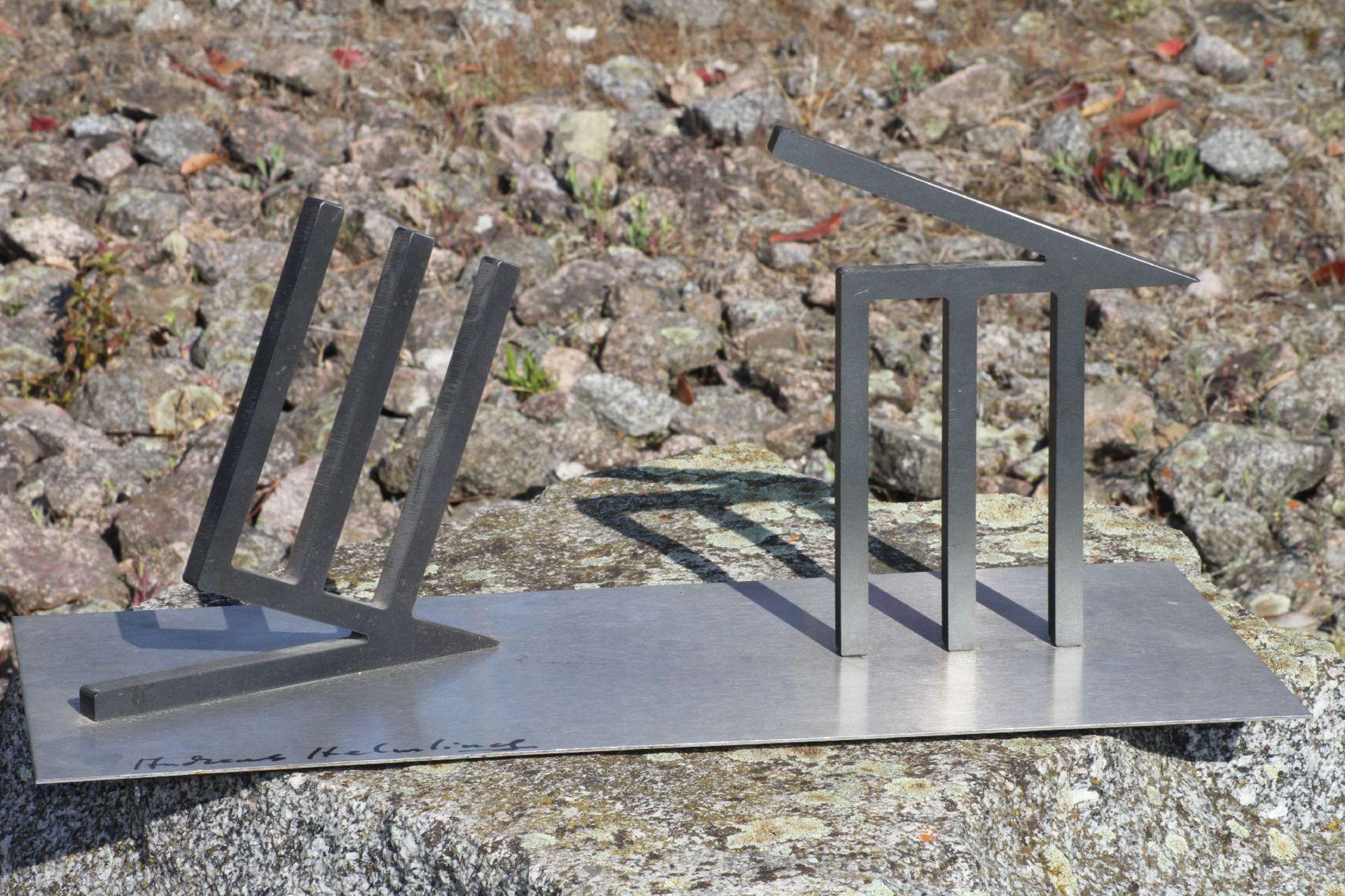 Skulptur, Andreas Helmling, Eisen/Metall, Limitierte