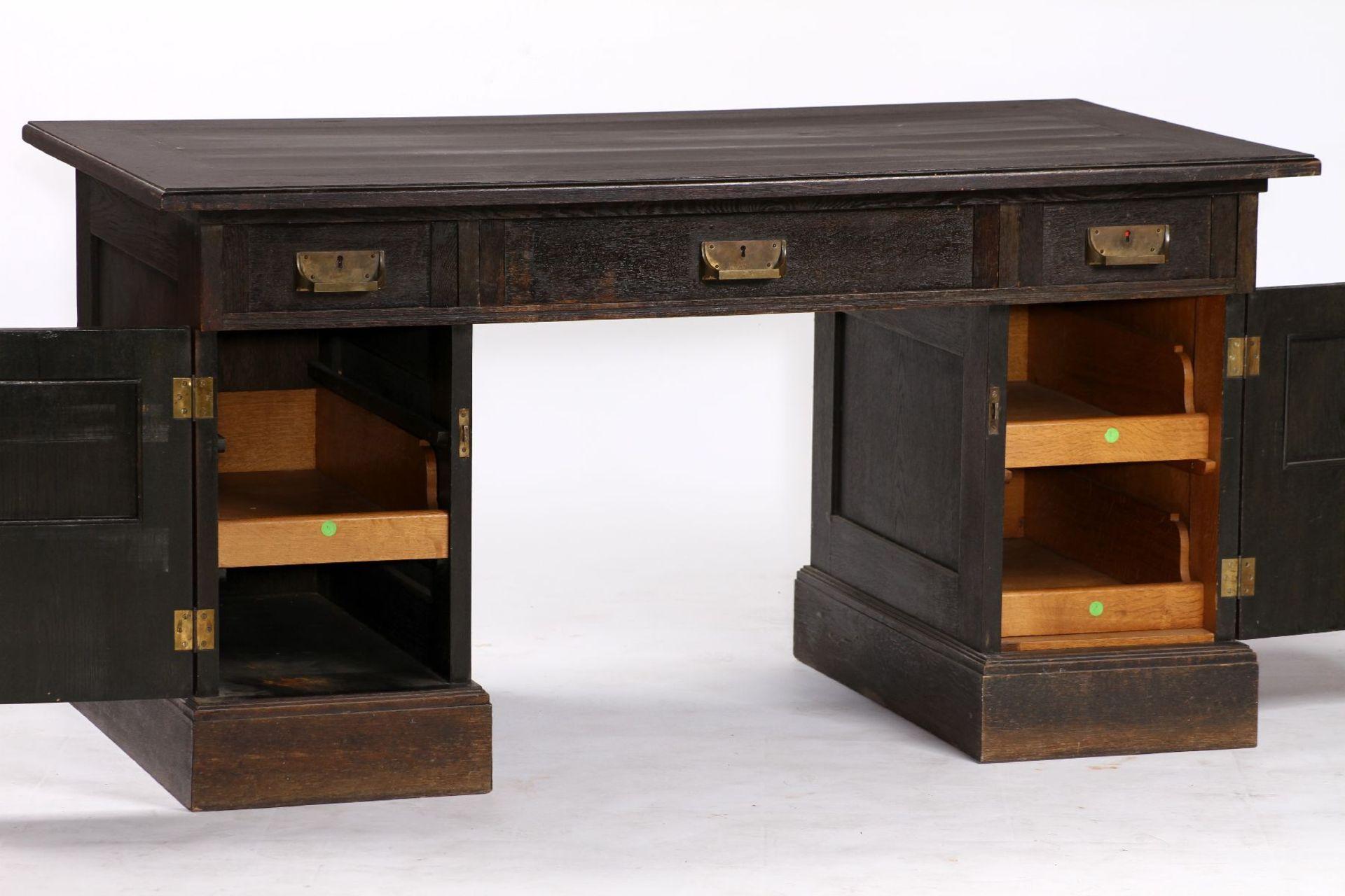 Schreibtisch, im Jugendstil von 1905, großer Einfluss von - Image 2 of 2