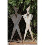 Skulptur, Andreas Helmling, Eisen/Metall, Abstrakte