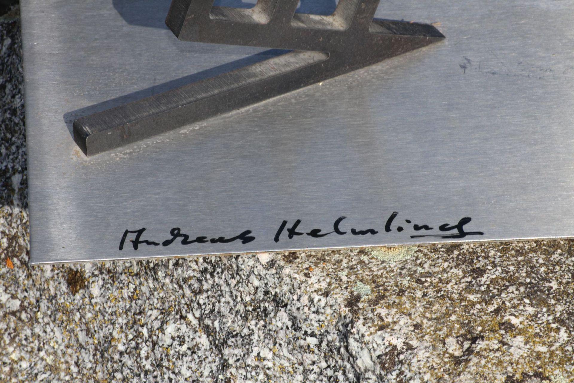 Skulptur, Andreas Helmling, Eisen/Metall, Limitierte - Image 2 of 2