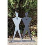 Skulptur, Andreas Helmling, Eisen, Flächen zueinander und