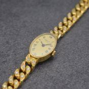 CHOPARD Damenarmbanduhr in GG 750/000,  Schweiz um 1975,