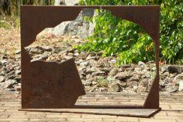 Skulptur, Andreas Helmling,  Eisen/Metall, Form eines
