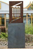 Skulptur, Andreas Helmling,  Eisen/Metall, Umriss des