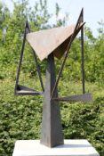 Skulptur Andreas Helmling,  Eisen/Metall, Abstrakte Waage,