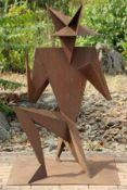 Skulptur, Andreas Helmling,  Eisen/Metall, abstrakt