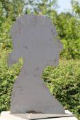 Skulptur, Andreas Helmling,  Eisen/Metall, Silhouette