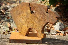 Skulptur Andreas Helmling,  Eisen/Metall, Büste eines