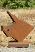 Skulptur Andreas Helmling,  Eisen/Metall, Büste