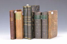 7 Bücher zum Thema Medizin, Botanik und ähnliche Themen: