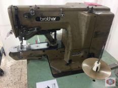 Brother Mod. LK3-B431 Bar Tacker (NEEDS REPAIR)