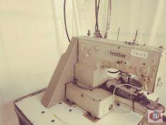 Brother Mod. LK3-B438E Button Sewing Machine