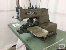 Brother Mod. CB3-B917-1 Button Sewing Machine