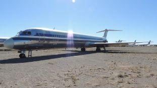 MD 82 Air Frame Tail # N7541A