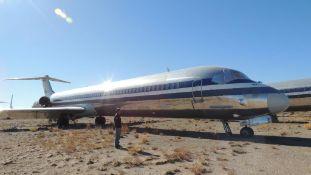 1986 MD 82 Air FrameTail # N33502
