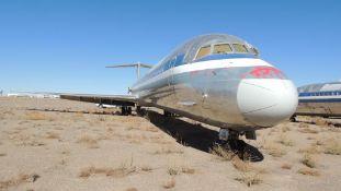 1988 MD 82 Air Frame Tail # N477AA