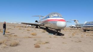 1991 MD 82 Air Frame Tail # N586AA