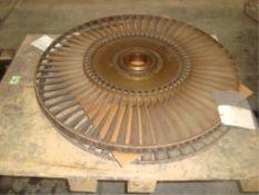 JT8D-219 Commercial Jet Engine Disk/Blades