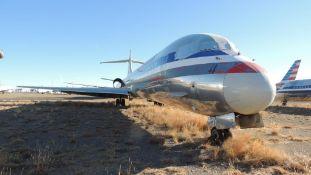 1990 MD 82 Air Frame Tail # N7520A