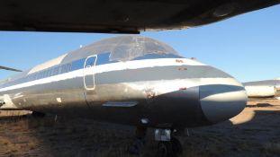 1991 MD 82 Air Frame Tail # N7550