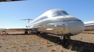1991 MD 82 Air Frame Tail # N555AN
