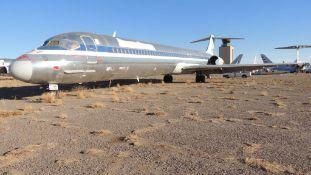 1989 MD 82 Air Frame Tail # N487AA