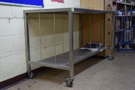 Steel Mobile Workbench