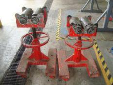 Heavy Duty Adjustable Height Roller Stands