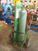 Dual Cylinder Welding Cart