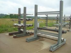 Heavy Duty Cantilever Raw Stock Storage Racks