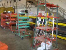 Raw Stock Storage Racks