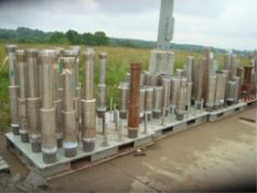 Heavy Duty Steel Vertical Shaft Storage Pallets