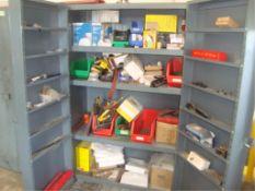 Heavy Duty 2-Door Parts Supply Cabinet