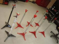Adjustable Height Rod Stands