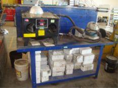 Benchtop Abrasive Blaster & Work Bench