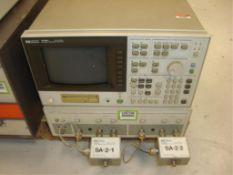 Network/Spectrum Analyzer W- 2-Channel Measurement