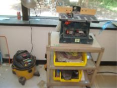 Benchtop Router With 3-HP/6-Gallon Shop Vac