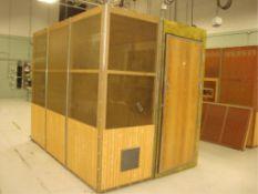 Modular Copper Screened RF Shielded Isolation Room