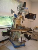 2-HP Vertical Milling Machine With ProtoTrak DRO