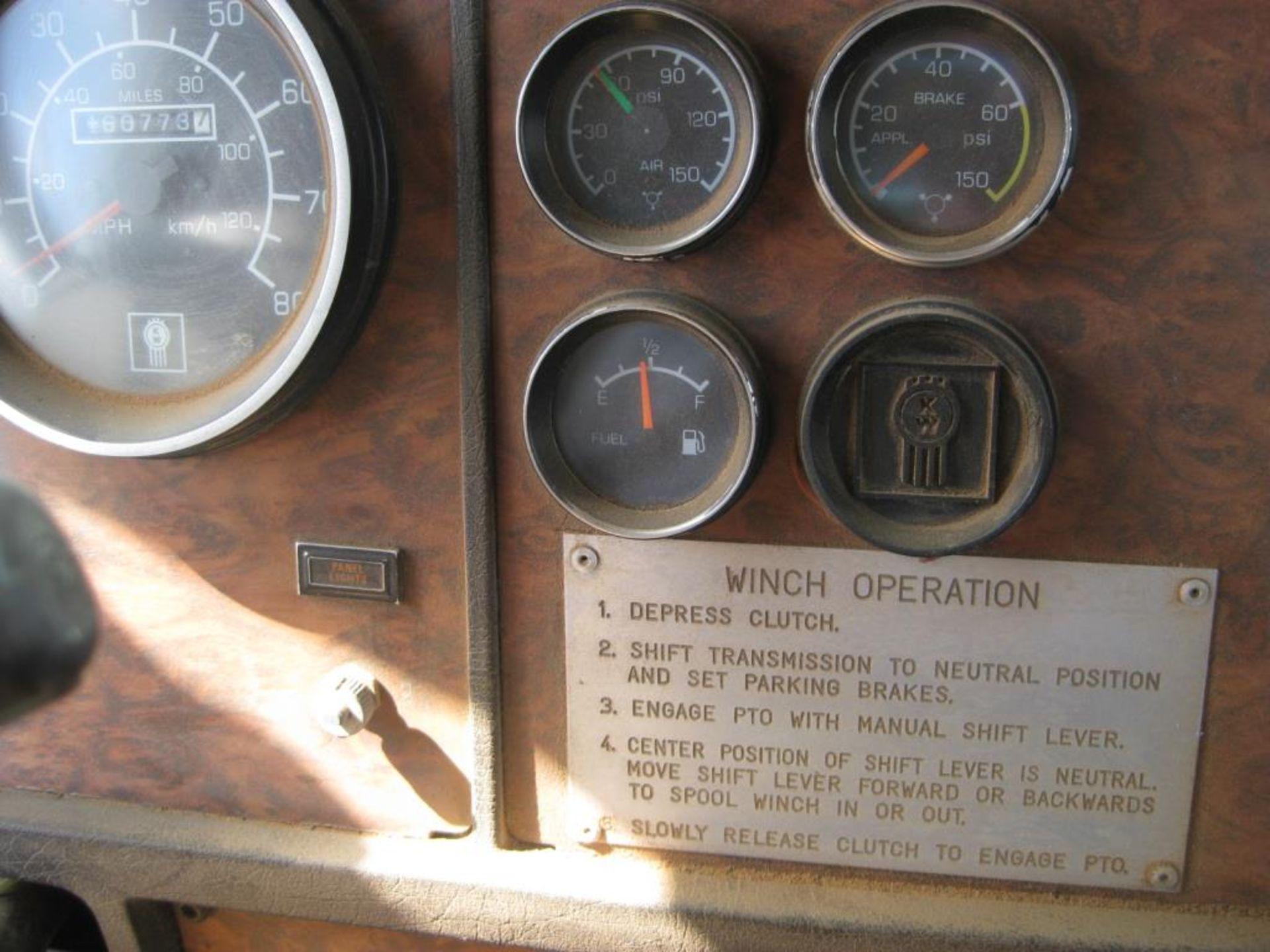 Kenworth Winch Truck - Image 18 of 23