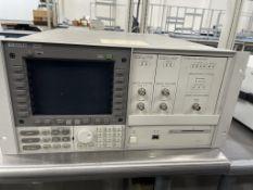 HP 71400C Lightwave Signal Analyzer w/ Modules