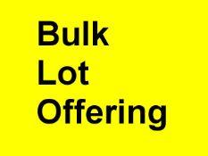 BULK SALE - Lots 100-106
